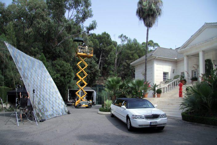 Rodaje en Palacio Monte Miramar